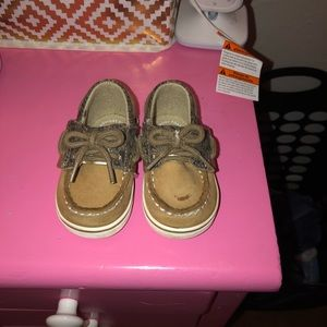 Infant girl Sperry boat shoe